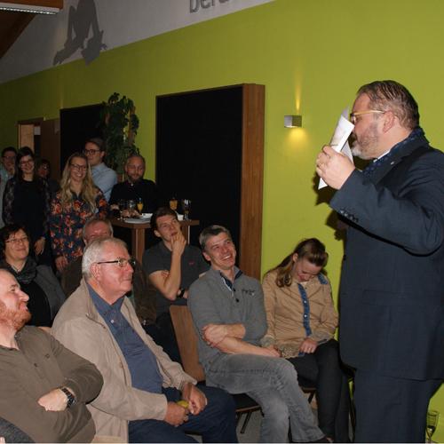 Peter Schmieder begeistert Seminarhaus Gruber