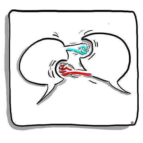 Miteinander reden – Kommunikation & Konflikt