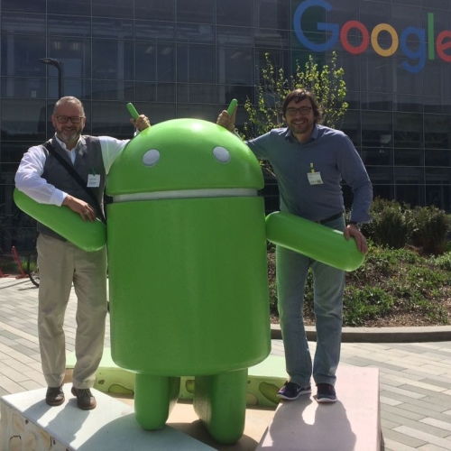 Im Silicon Valley!