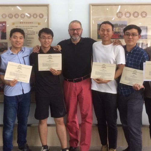 Graduenten an der Jiangnan University!